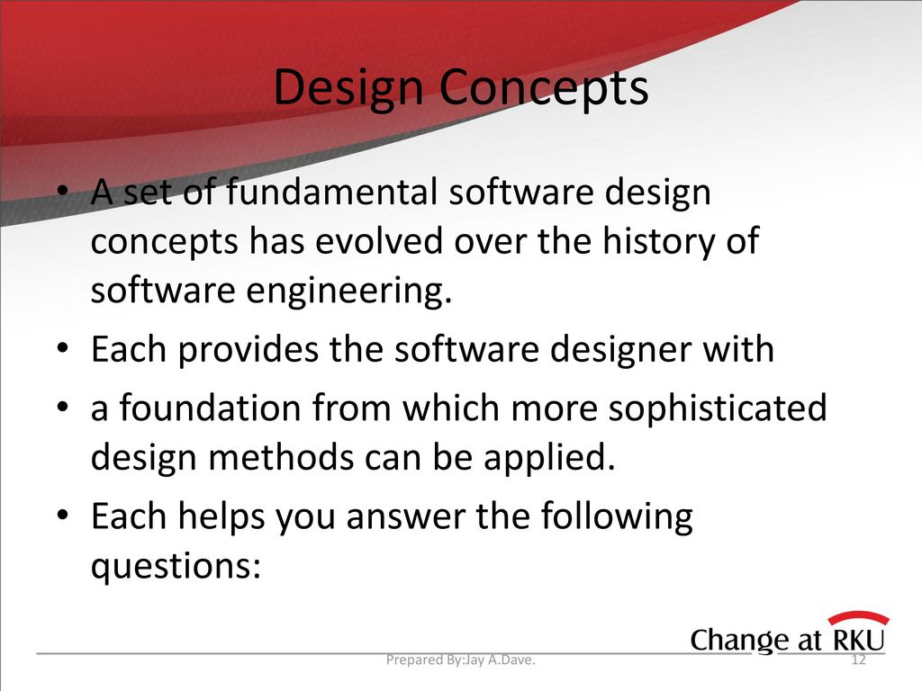 Design Engineering Prepared By Jay A Dave Ppt Download