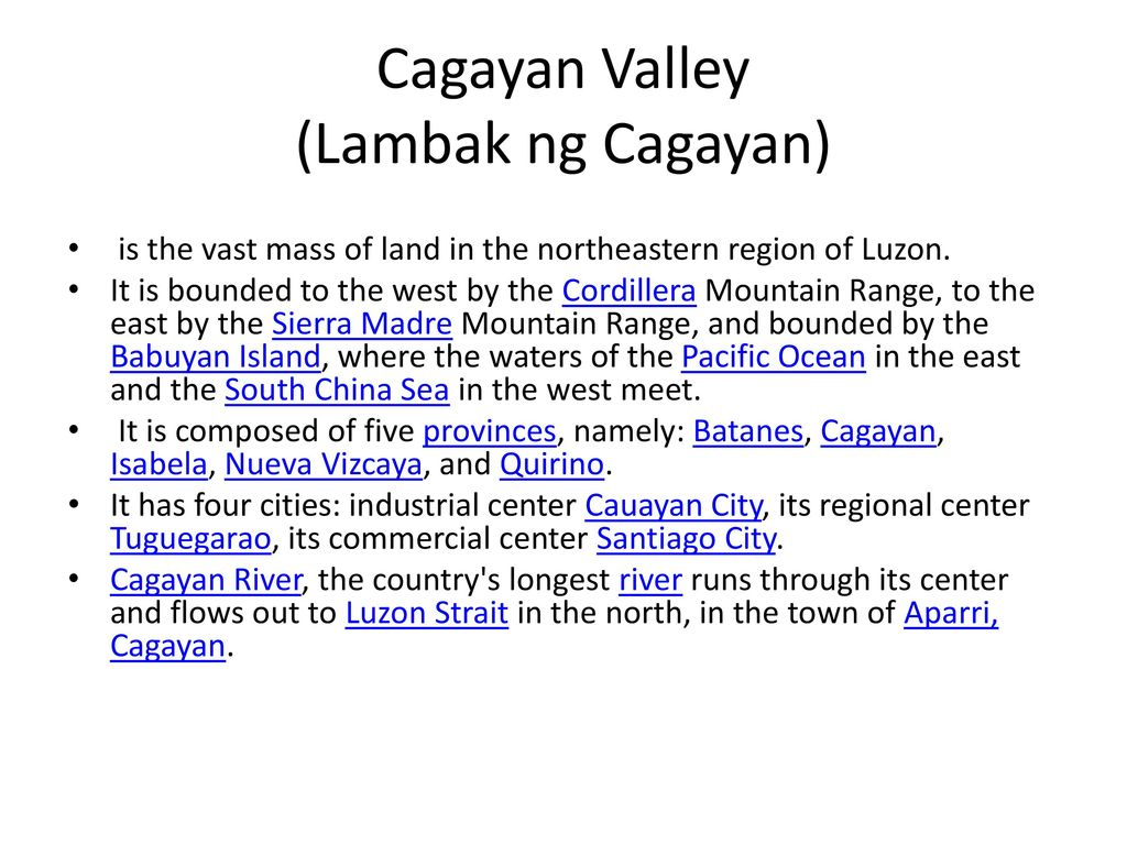 Region II: Cagayan Valley - ppt download
