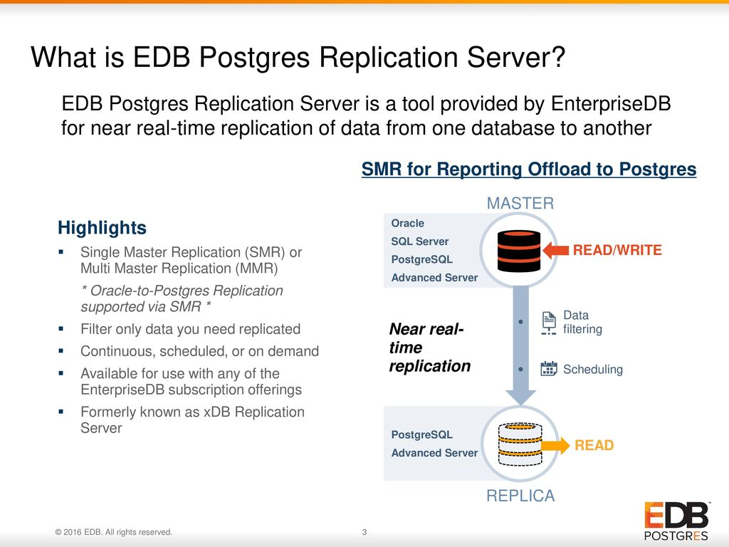 Using EDB Postgres Replication Server to Offload Oracle Reporting