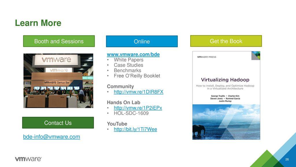 VAPP4587 Virtualizing Big Data - ppt download