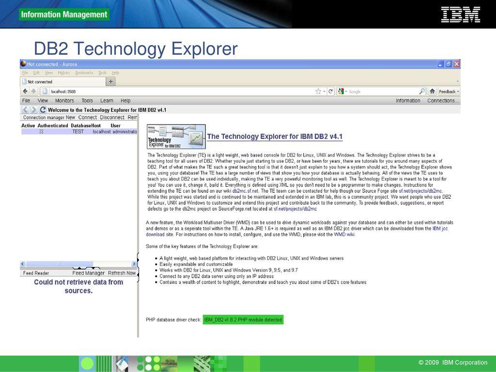 IBM DB2 Technology Explorer - ppt download