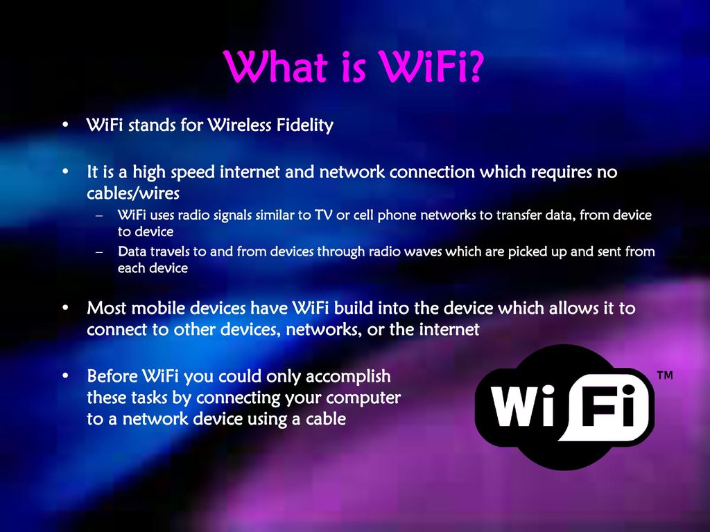 Introduction to Wireless Technology - ppt download