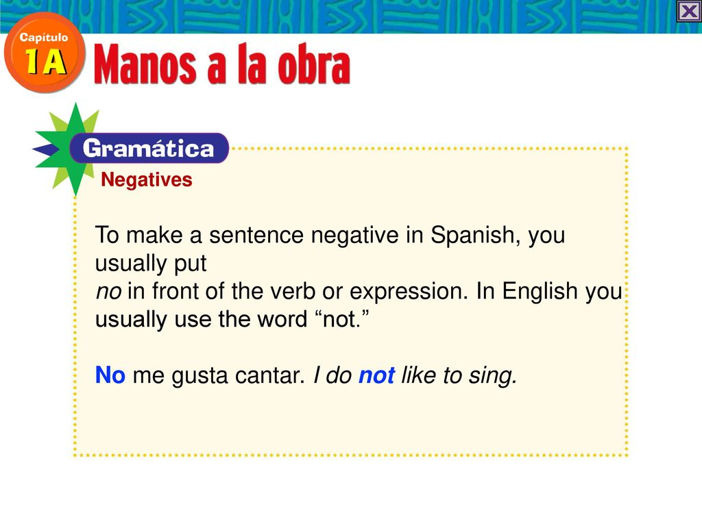 What Does Me Gusta Cantar Mean In Spanish Gastronomia Y Viajes