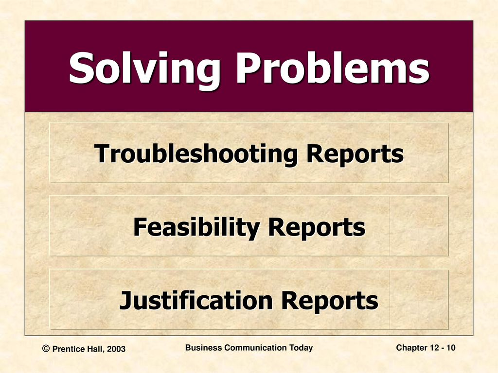 Image result for Problem Solving Business Report