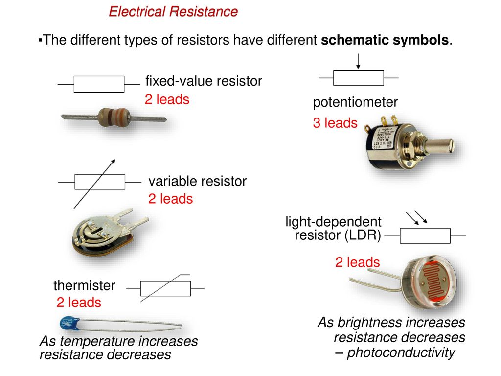 Topic 5 Electricity And Magnetism Ppt Download Lund Light Wiring Diagram Electrical Resistance