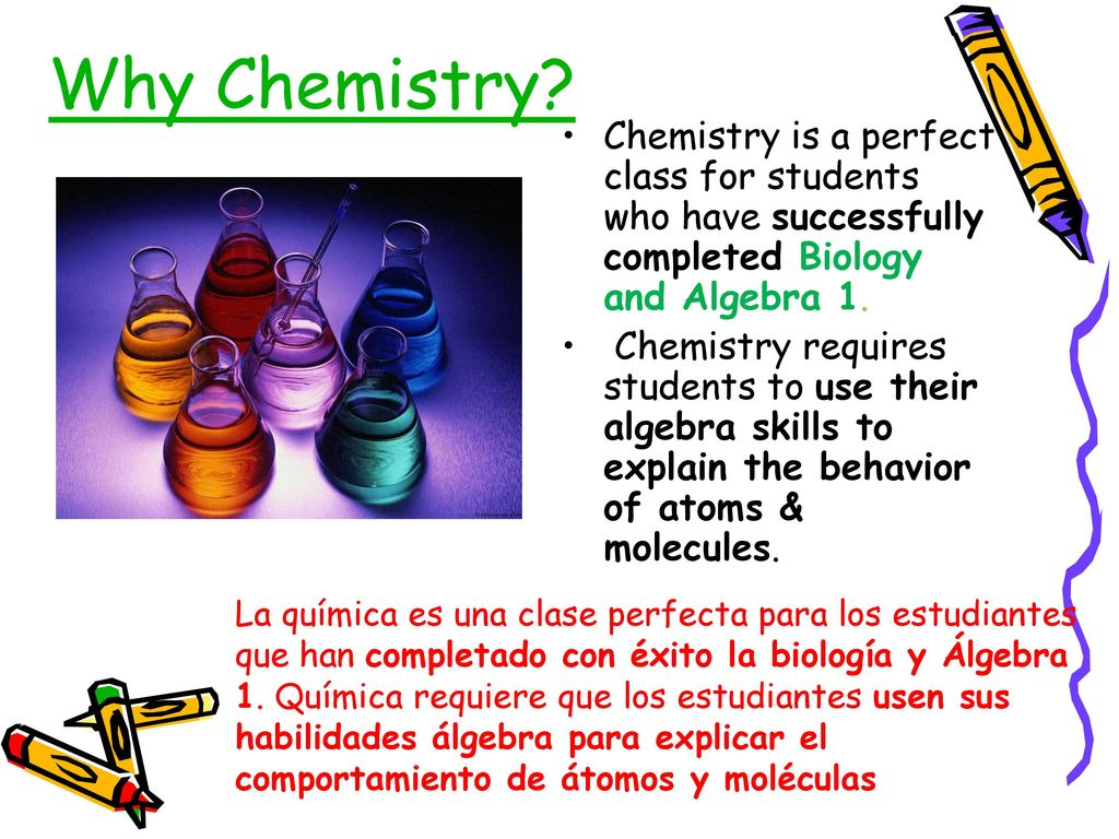 Welcome to Chemistry \u201cFor the young to become moral, they must be in