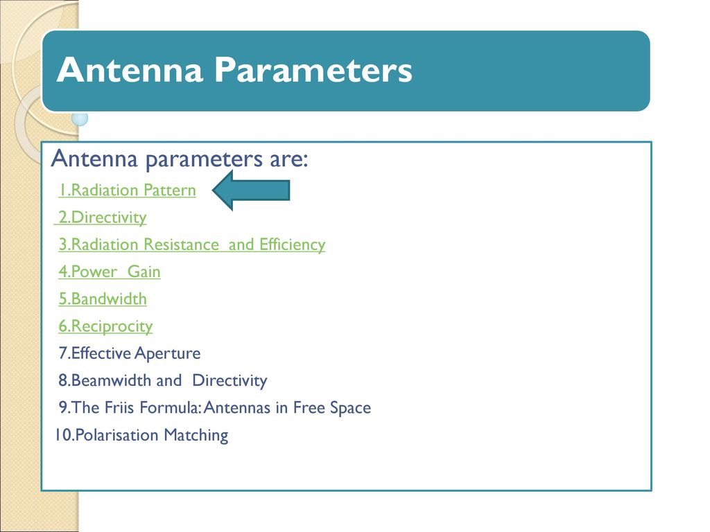 What is an antenna 89