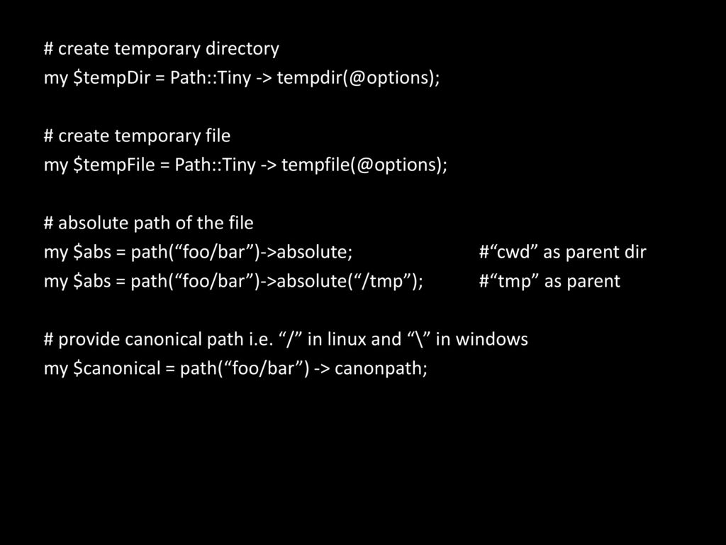 Working with files and tables in Perl - ppt download