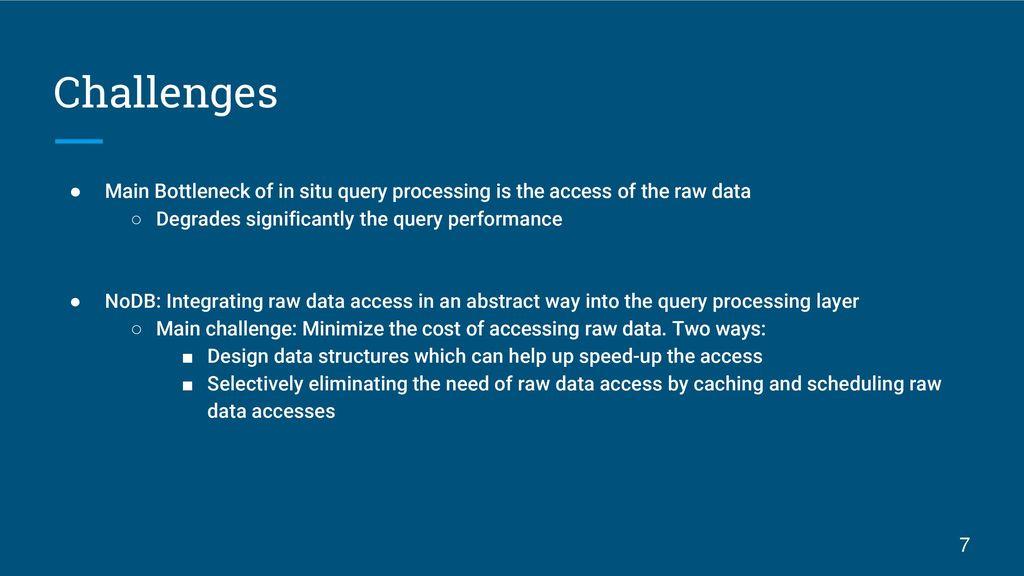 Raw Data Access