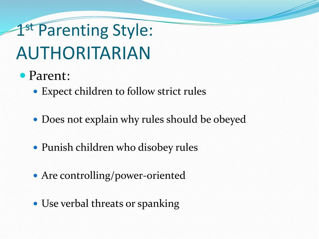 4 Different Parenting Styles and their Effects on Children