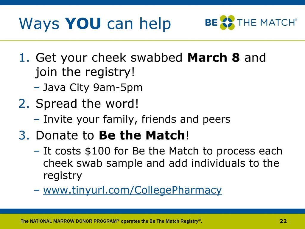 What you can donate on March 8 41