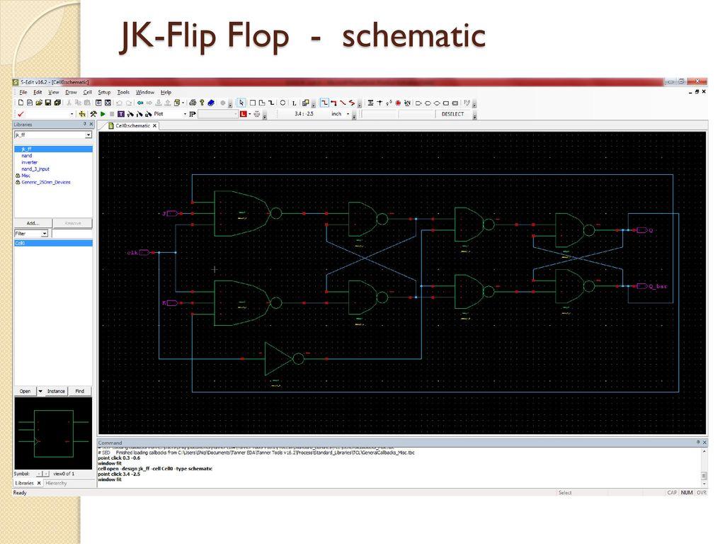 Ece 3130 Digital Electronics And Design Ppt Download J K Flip Flop Circuit Diagram 16 Jk Schematic