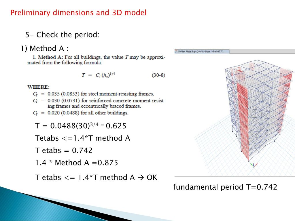 3D-DYNAMIC ANALYSIS AND DESIGN OF Al-Motamayyezoon Building IN