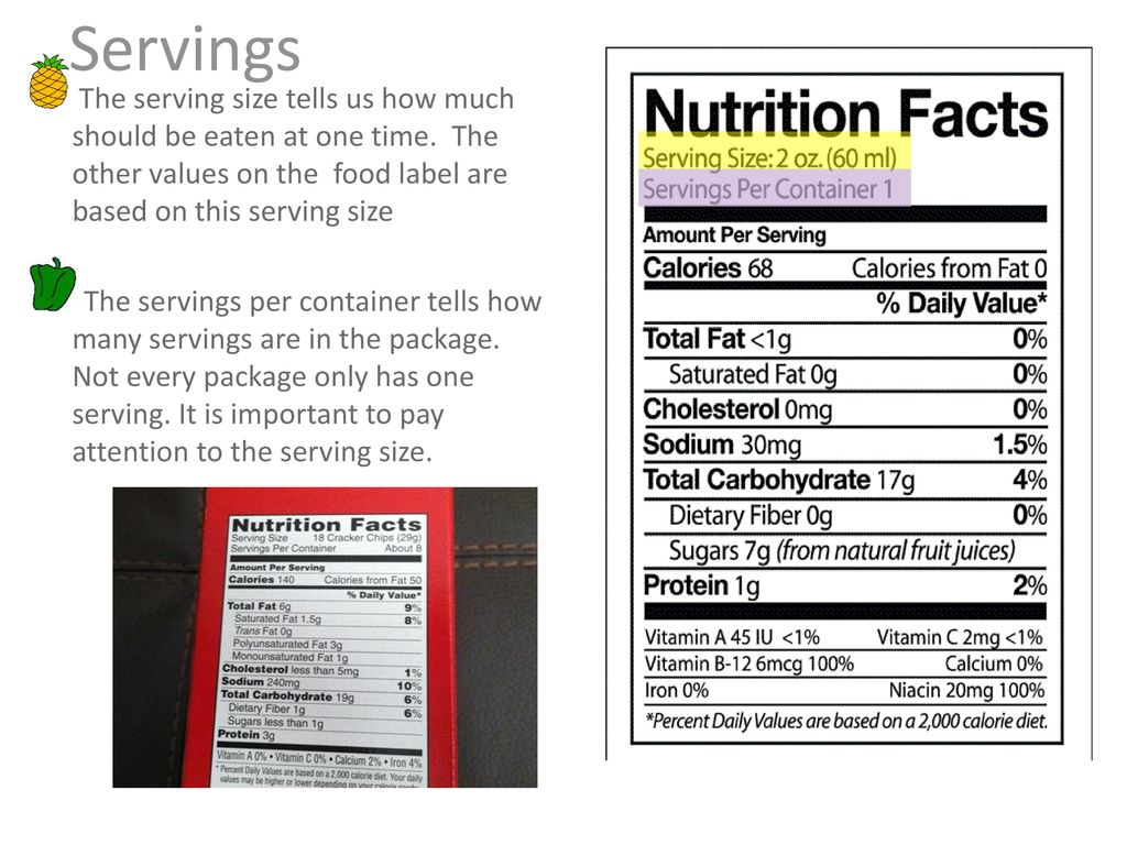 how to read a nutrition label - ppt download