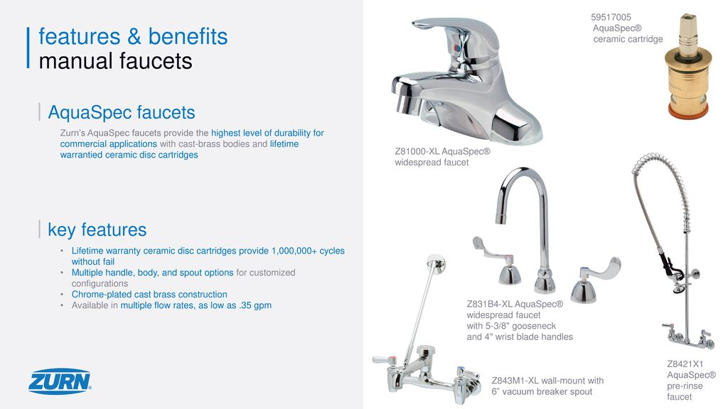Features and benefits of cast discs