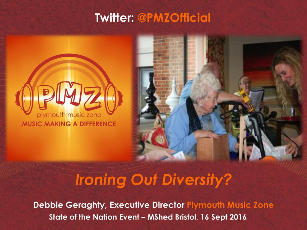 Debbie Geraghty Executive Director Plymouth Music Zone Ppt Download