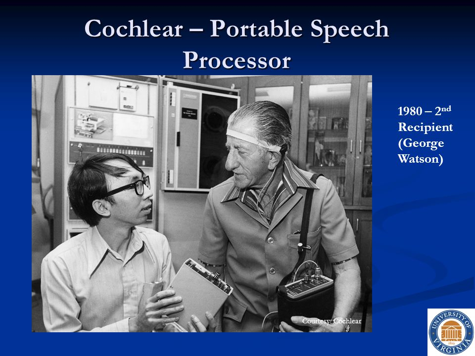 Cochlear – Portable Speech Processor