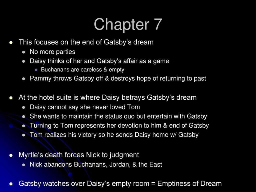 what was gatsbys dream