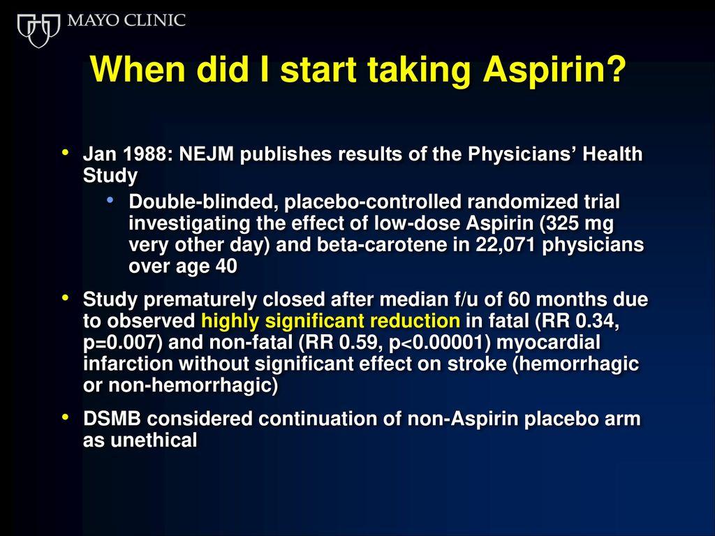 An Aspirin A Day Keeps The Cancer Away Ppt Download