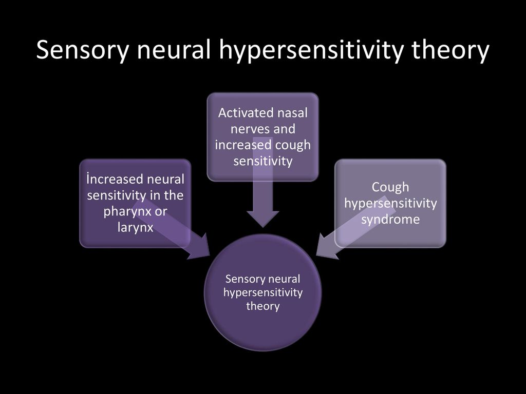 Sensory neural hypersensitivity theory