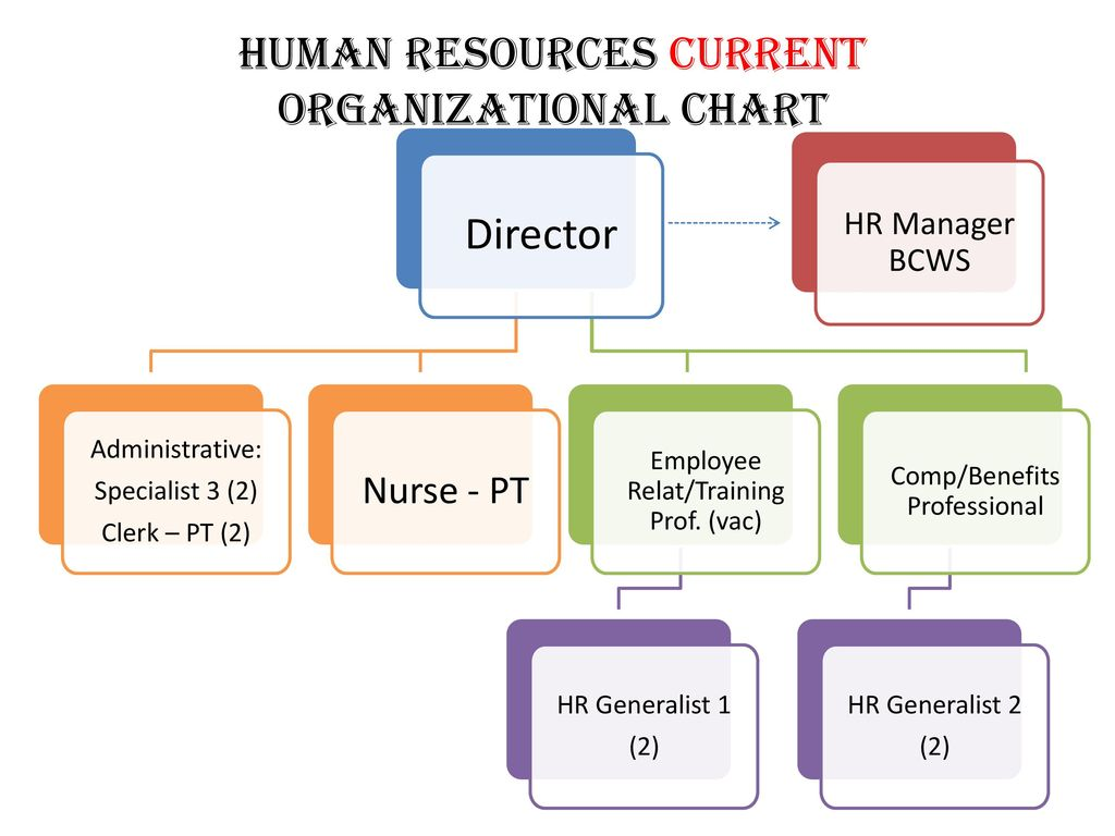 Human Resources Current Organizational Chart Ppt Download