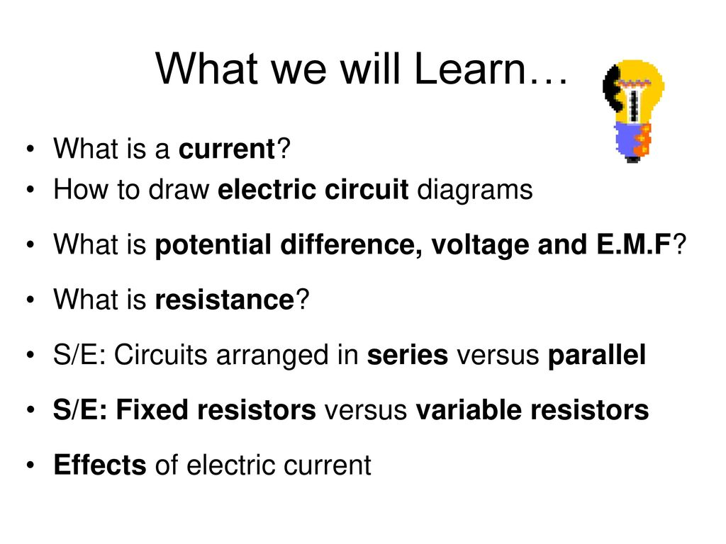 Volume B Chapter 18 Electricity Ppt Download Circuit Diagram Variable Resistor 2 What