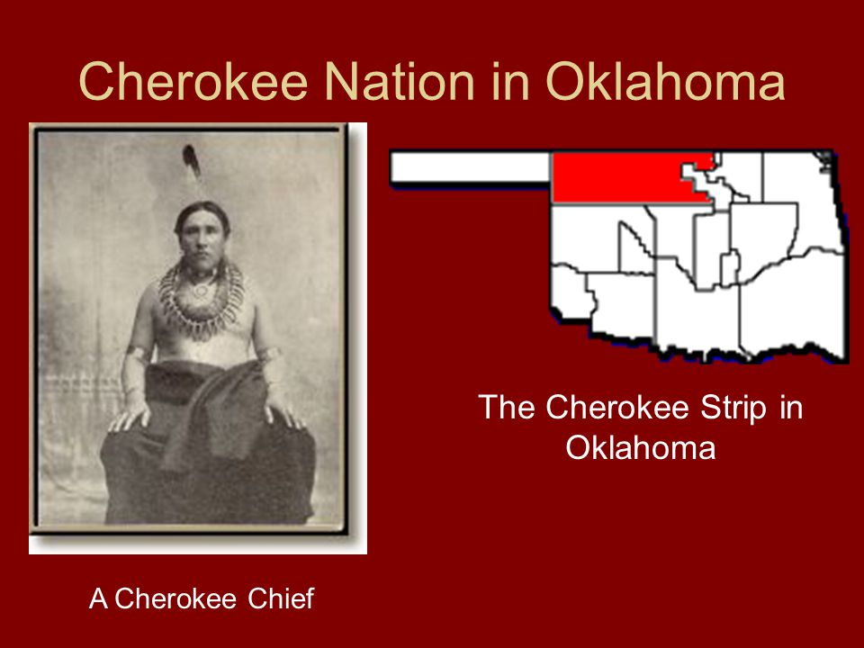 Cherokee Nation in Oklahoma