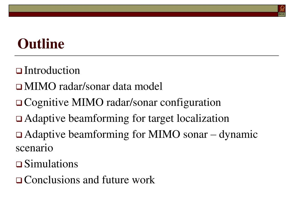 Adaptive Beamforming for Target Tracking in Cognitive MIMO