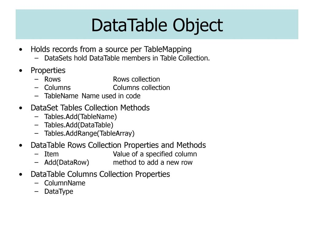 Active Data Objects Binding ASP NET Controls to Data - ppt
