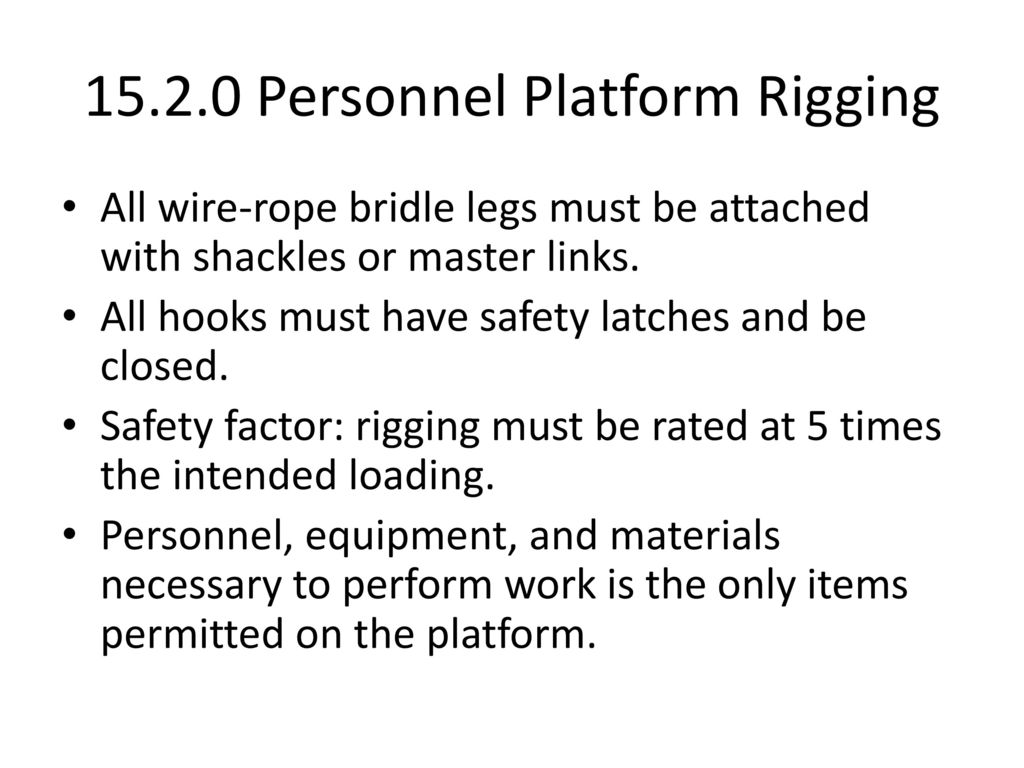 Material Handling and Hand Rigging - ppt download