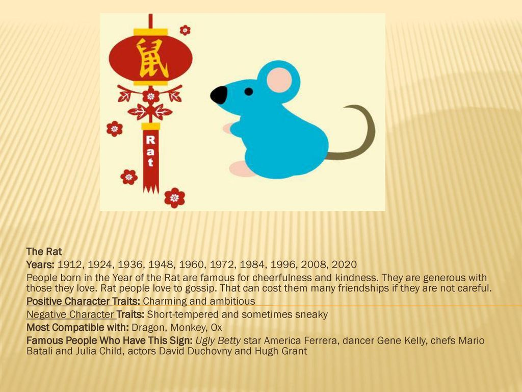 What is your animal is the Year of the Dragon - ppt download