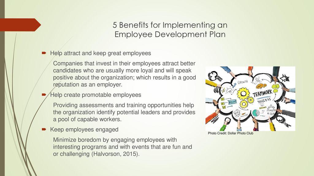 employee development plan presentation