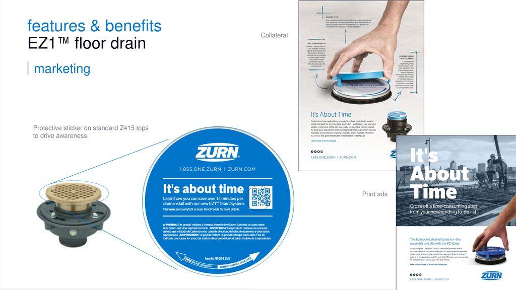 Zurn Floor Drains - Overview ppt download
