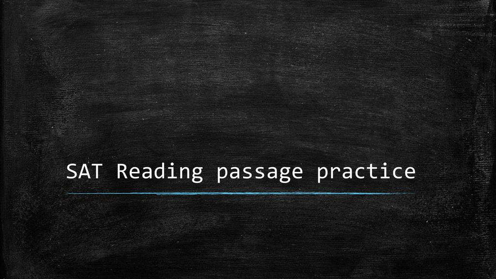 SAT Reading Passage – rest of questions from Akira passage