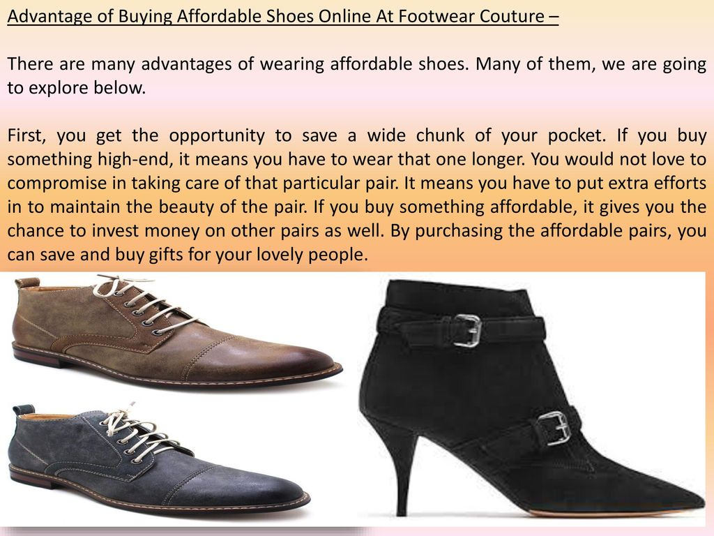 couture shoes online