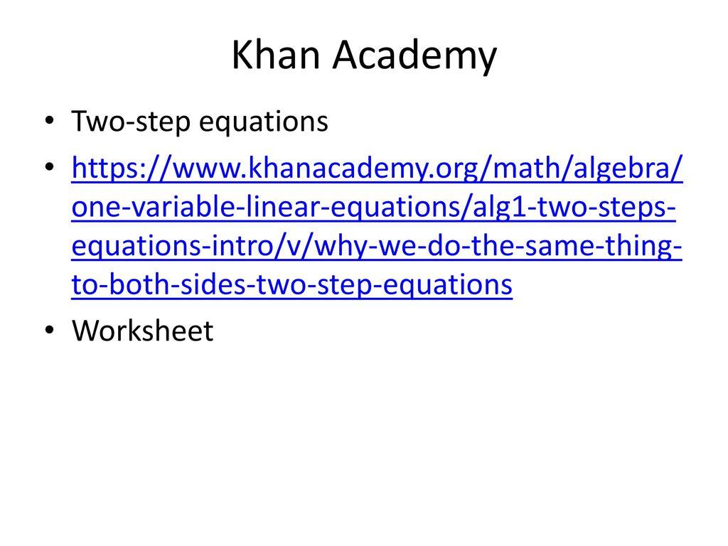 Niedlich Solving One Variable Equations Worksheet Galerie ...