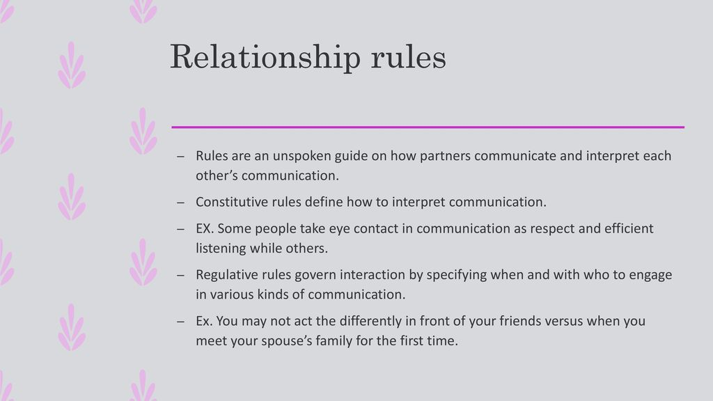 Personal Relationships - ppt download
