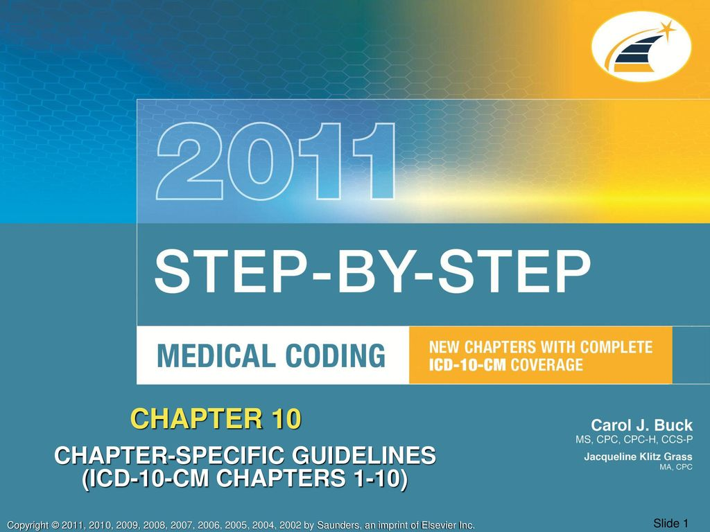 CHAPTER-SPECIFIC GUIDELINES (ICD-10-CM CHAPTERS 1-10) - ppt