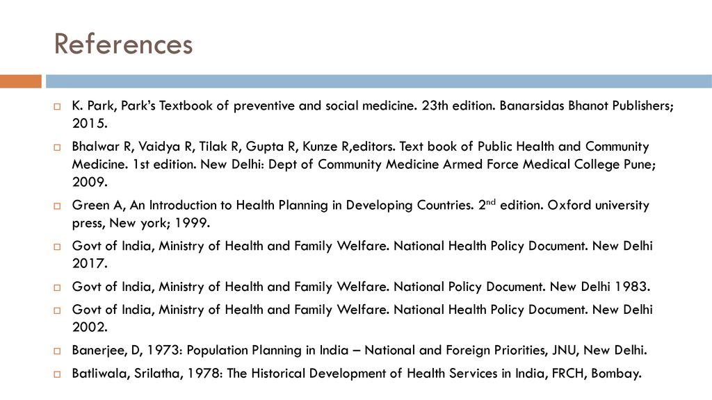 Health planning in india ppt download references k park parks textbook of preventive and social medicine 23th edition fandeluxe Images