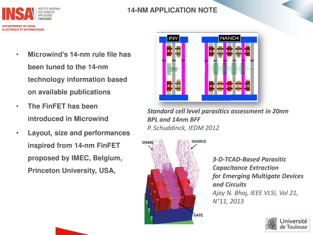 14-NM TECHNOLOGY & FinFET in MICROWIND - ppt download