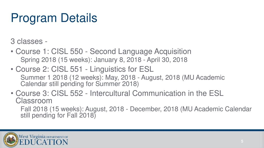 Marshall University Academic Calendar.Marshall University Esl Cohort Ppt Download