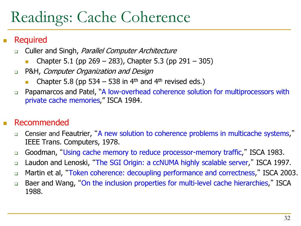 Computer Architecture Lecture 29 Consistency Coherence Ppt Download