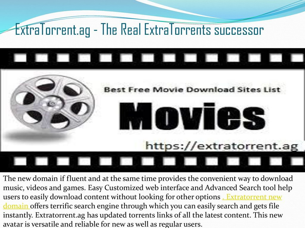 extratorrent movies free downloads site