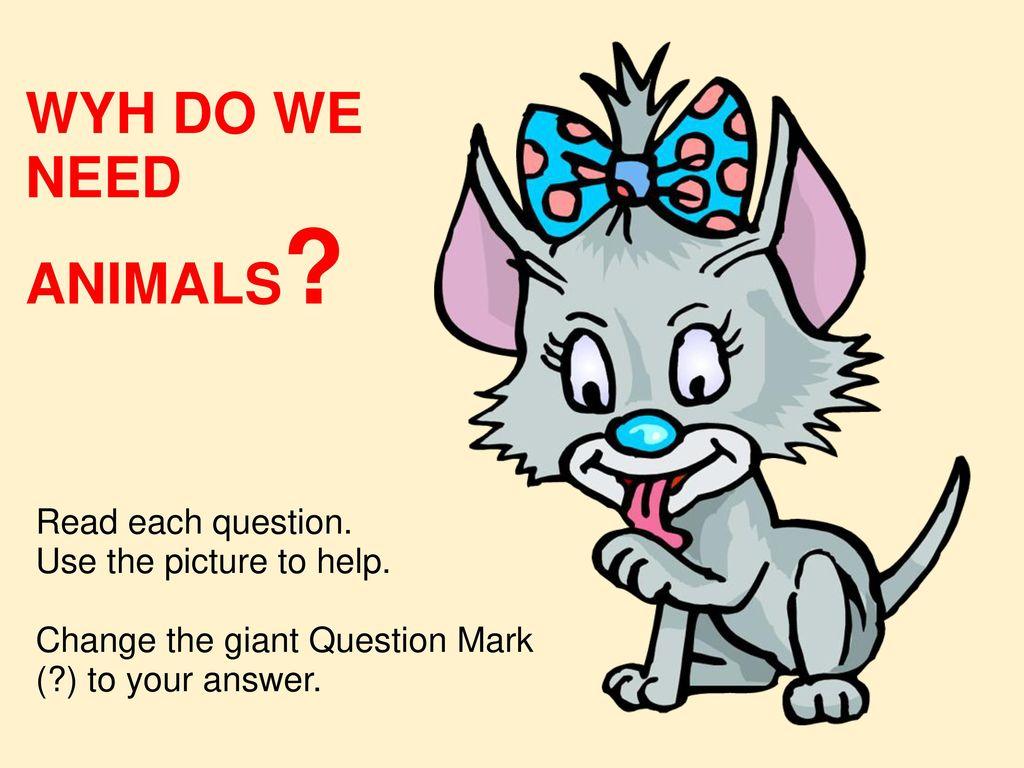 Why do we need animals 14