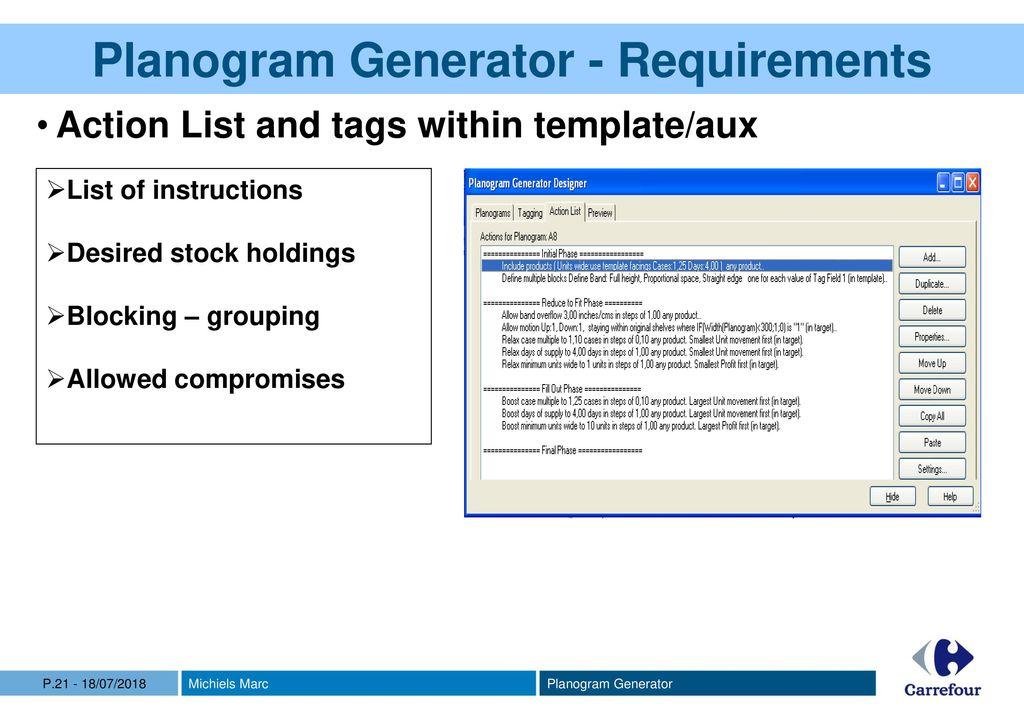 Planogram Generator JDA Applications  - ppt download