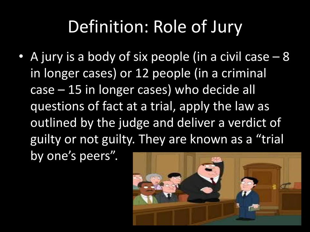 the jury system. - ppt download