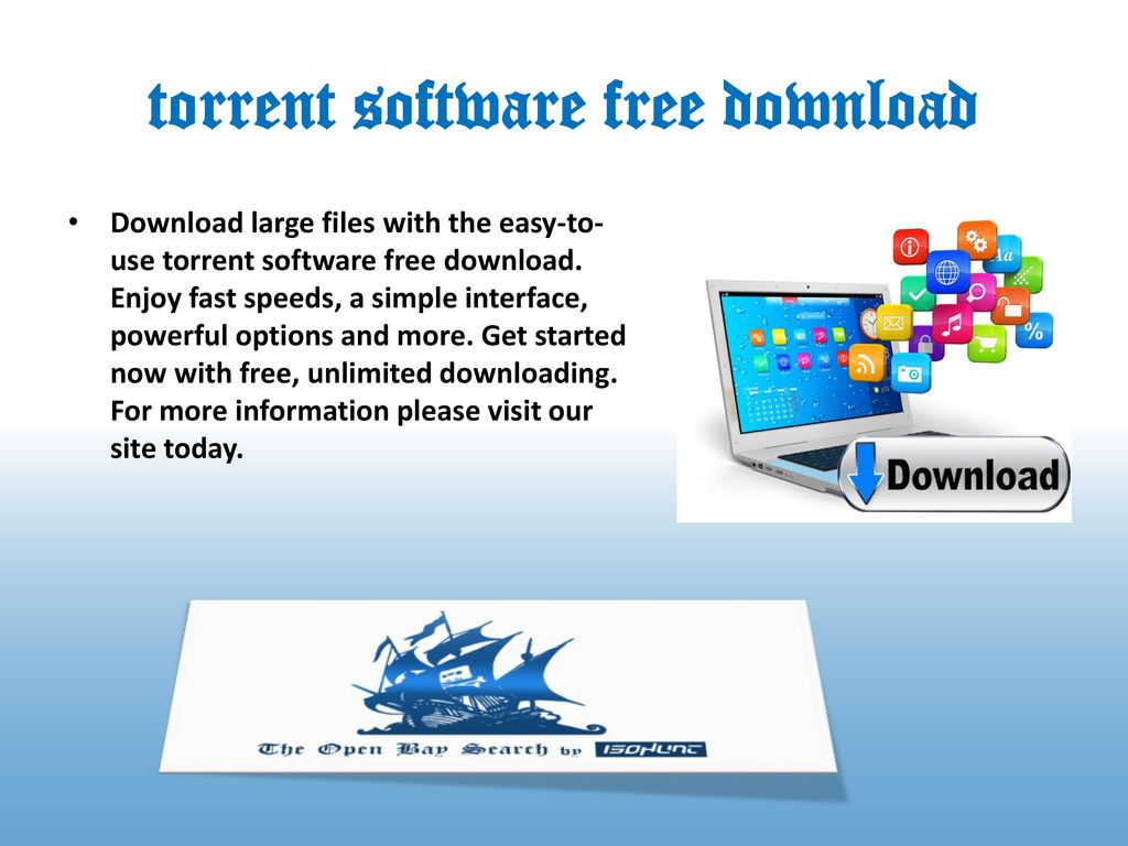 www torrentsoftware free download