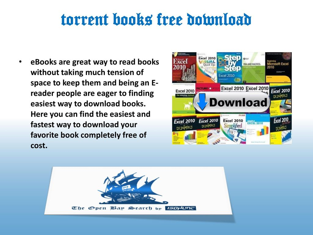 torrent book download