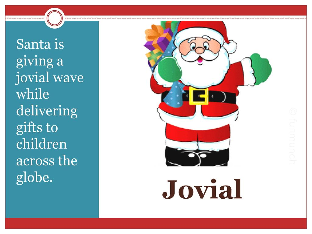 [Image: Santa+is+giving+a+jovial+wave+while+deli...globe..jpg]