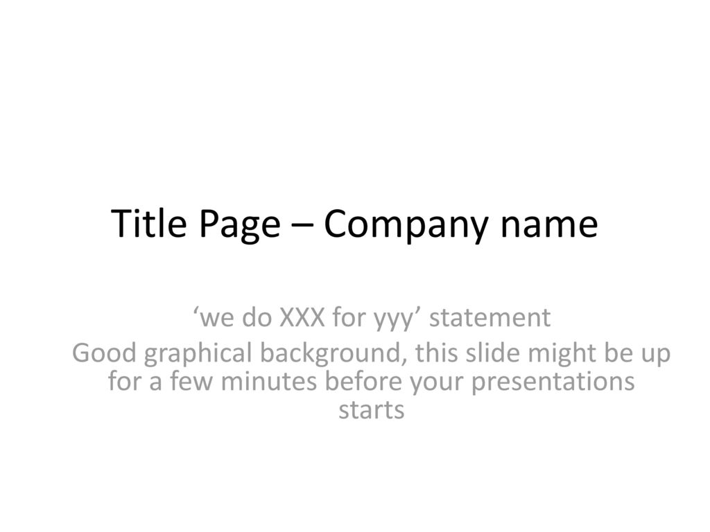 This Is An Example Template Of Ordering And Content For A
